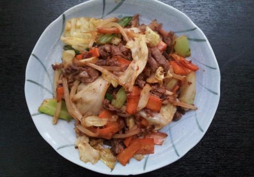 牛肉・肉野菜炒め