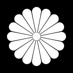 菊十六紋小