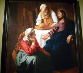 2.マリアとマルタの家のキリスト
