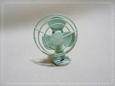 ミニチュア扇風機