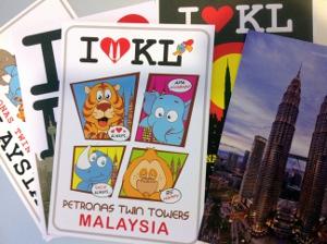 マレーシアの絵葉書
