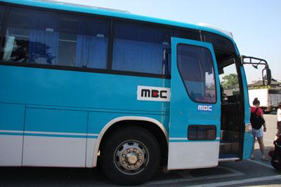 MBCのバス