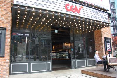 CGVの1階