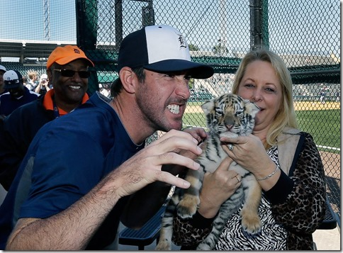verlander with tiger
