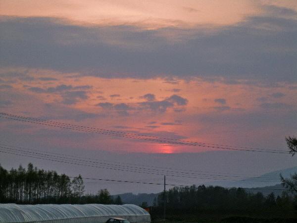 20120509 夕焼け