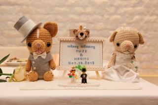 結婚式当日