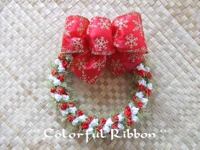2012.10.13 Fancy Rose Christmas Wreath
