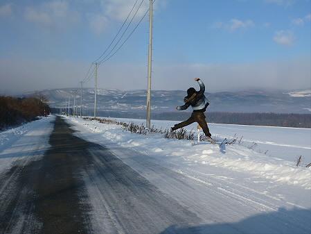 上坊牧野(2012.12.12)ジャンプ!