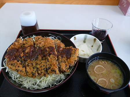 道の駅にしね 熔岩流みそかつ丼08(2012.12.18)