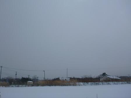 ビジターセンターからの岩手山01(2012.12.19)