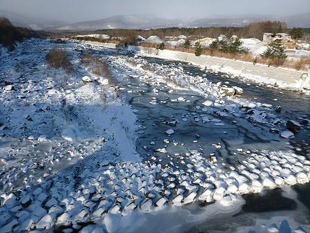 刈屋橋からの松川01(2012.12.27)
