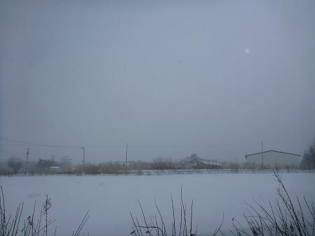 ビジターセンターからの岩手山01(2012.12.27)