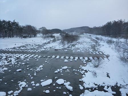 刈谷橋からの松川01(2013.1.4)
