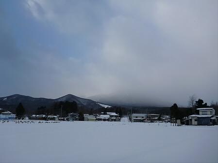 平笠の岩手山01(2013.1.19)