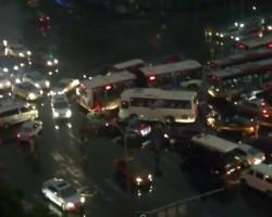 Insane traffic in Beijing