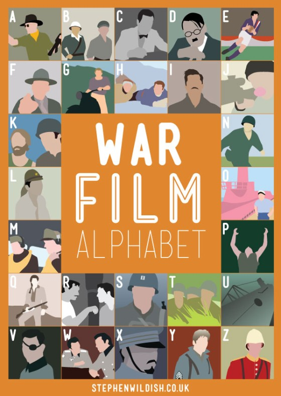 war film alphabet