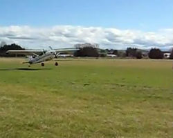 cessna 180 short field inverted finish crash