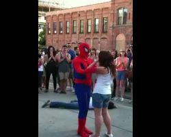 Spider Man Proposed