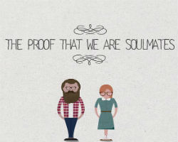 The proof that we are soulmates