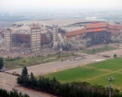 Asia's Largest Indoor Stadium Crumbles To Dust In 8 Seconds