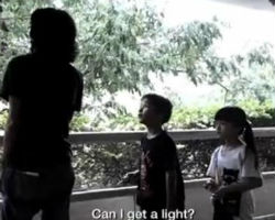 Thai Health Promotion Foundation- Smoking Kid