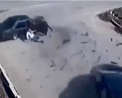 Turkeys Luckiest Man Walks Away From Horrific Car Crash