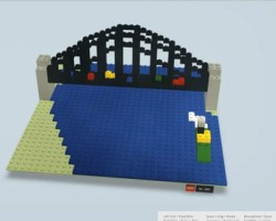 Sydney Harbour Bridge created in Build with Chrome