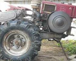 40年くらい前の耕運機を動かしてみた