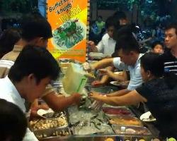 How NOT to eat at a Vietnamese Buffet Restaurant 2012