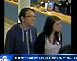 Jeremy Forrests father makes emotional appeal