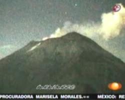 Objeto extrano entra al Popocatepetl desde el espacio