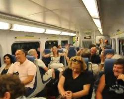 Passengers Randomly Burst Into Song On Canadian Train