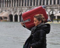 Venice hit by floods