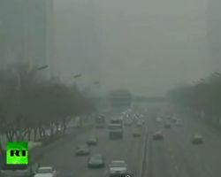 Air pollution in Beijing surpasses health hazard levels