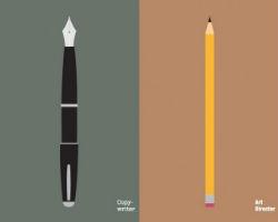 Copywriters versus Art Directors