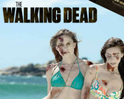 the walking dead bikini