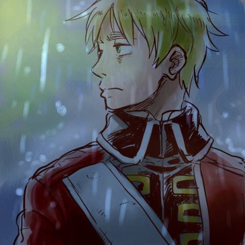 雨音しか聞こえない