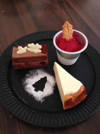 りんさんケーキ2014冬