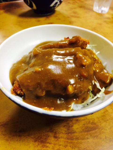 河金丼(カツカレー)