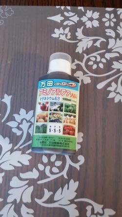 ゴーヤの栄養剤2013.05.14