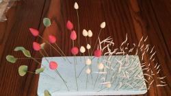 イチゴ、葉っぱ宿題2013.6.14