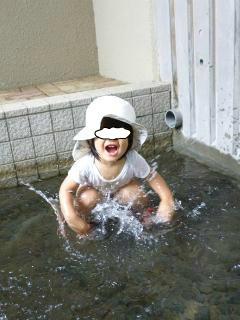 ブログ2 0813水遊び