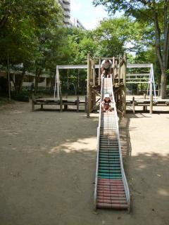 ブログ2 0827公園2