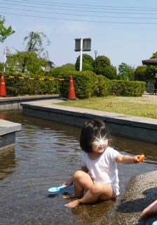 ブログ2 0507水遊び