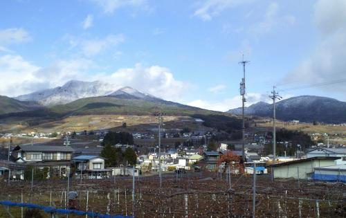 雪の高社山(26.12.4)