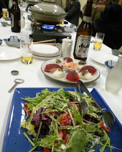サラダとお寿司(26.12.10)