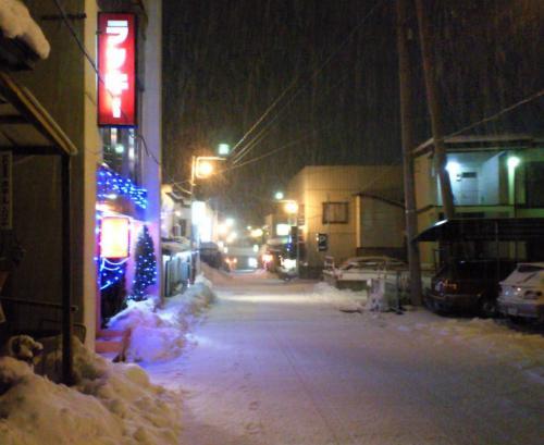雪の湯河原(26.12.22)
