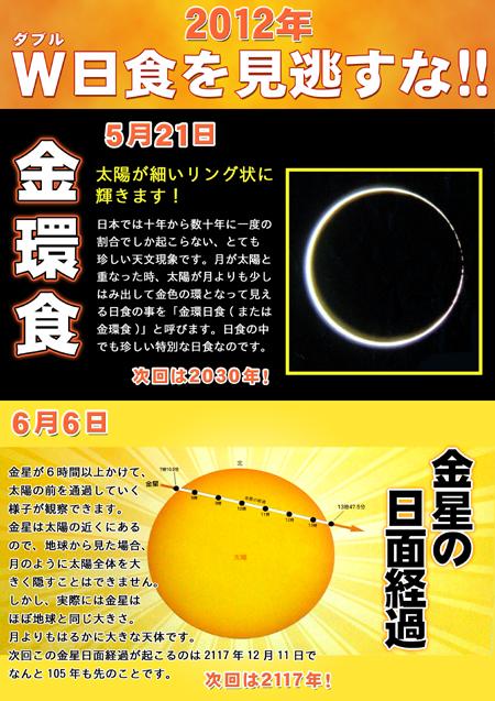 W日食ペーパー