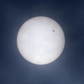 金星と太陽