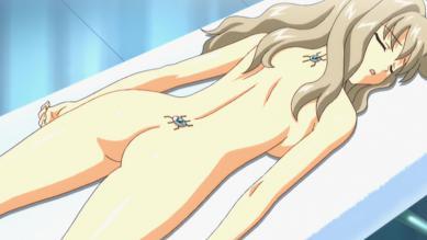 ミドリ 全裸背面